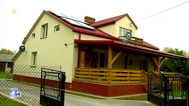Dom stworzony w Polsce przez rodzinę zastępczą dla Michałka i innych dzieci.