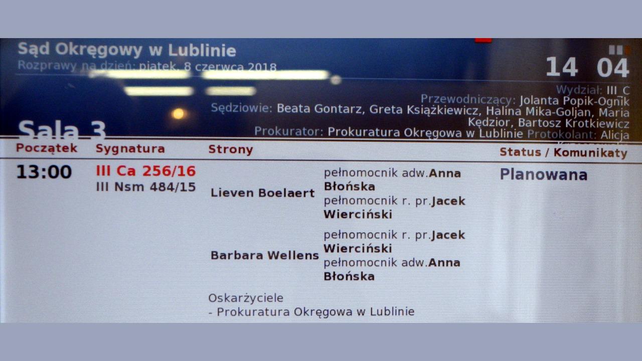 Lubelscy sędziowie i prokuratorzy pomagają porywać dzieci z Polski