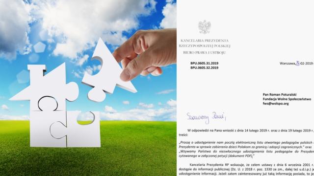Apel pedagogów o międzynarodową ochronę polskich rodzin