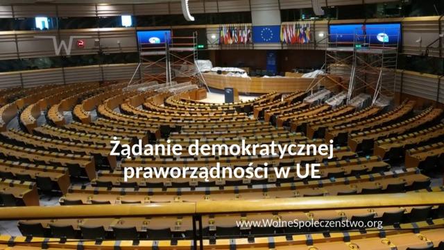 Wezwanie do wystąpienia o demokratyczną praworządność w Unii Europejskiej